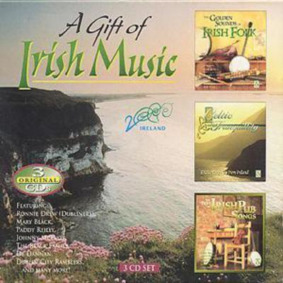 A Gift Of Irish Music: THE GOLDEN SOUNDS OF IRISH FOLK/CELTIC TRANQUILLITY/BEST OF - Various [CD]