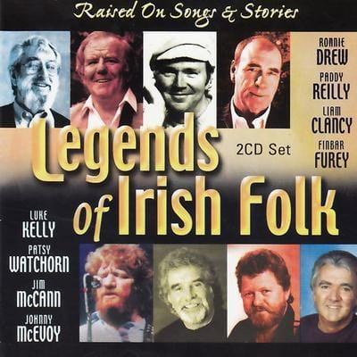 Legends of Irish Folk: Raised On Songs and Stories - Various Artists [CD]