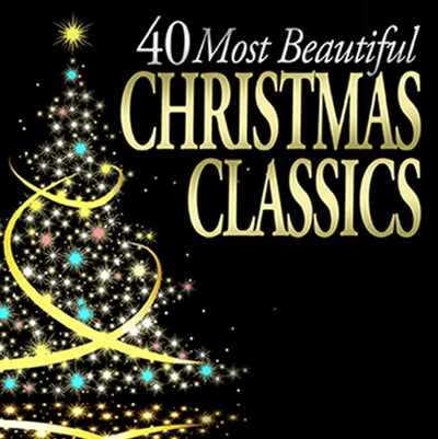 40 Most Beautiful Christmas Classics - Henry Gauntlett [CD]