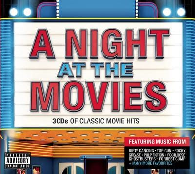 A Night at the Movies - Various Artists [CD]