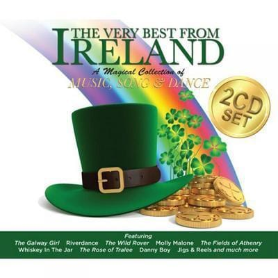The Very Best from Ireland: A Magical Collection of Music, Song and Dance - Various Artists [CD]
