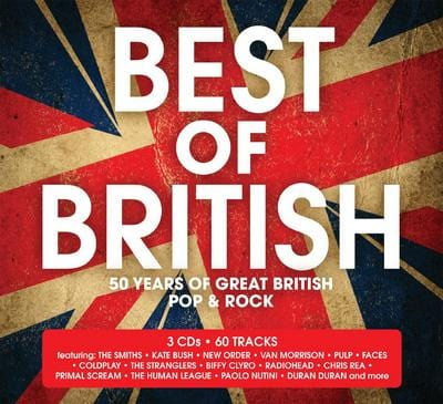 Best of British - Various Artists [CD]