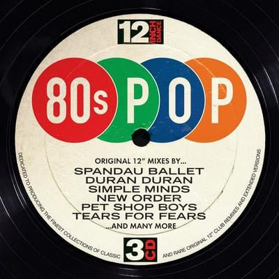 12 Inch Dance: 80s Pop - Various Artists [CD]