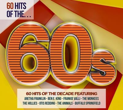 60 Hits of the 60s:   - Various Artists [CD]