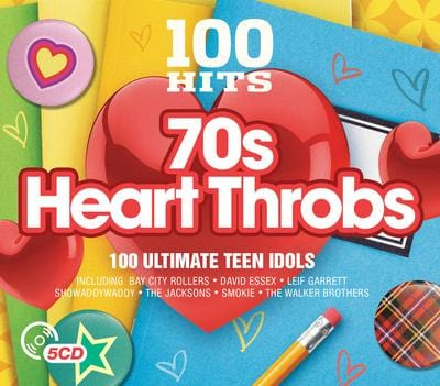 100 Hits: 70s Heartthrobs - Various Artists [CD]