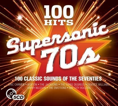 100 Hits: Supersonic 70s - Various Artists [CD]
