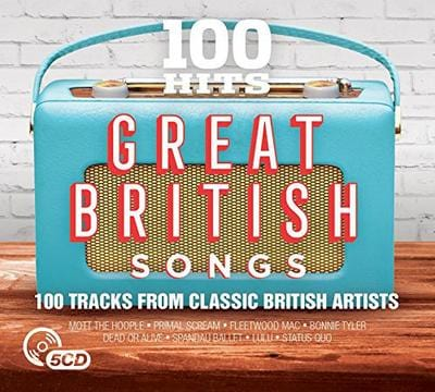 100 Hits: Great British Songs - Various Artists [CD]