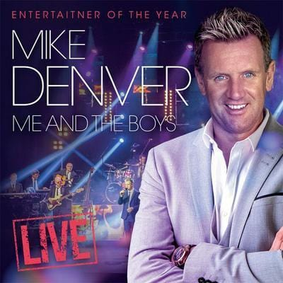 Me and the Boys Live - Mike Denver [CD]