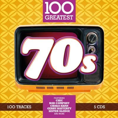 100 Greatest 70s:   - Various Artists [CD]