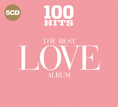100 Hits: The Best Love Album - Various Artists [CD]