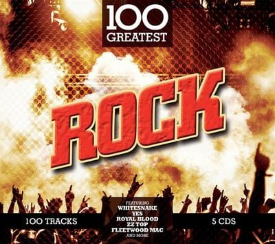 100 Greatest Rock:   - Various Artists [CD]