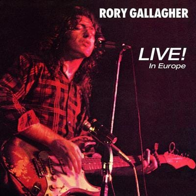 Live! In Europe - Rory Gallagher [CD]