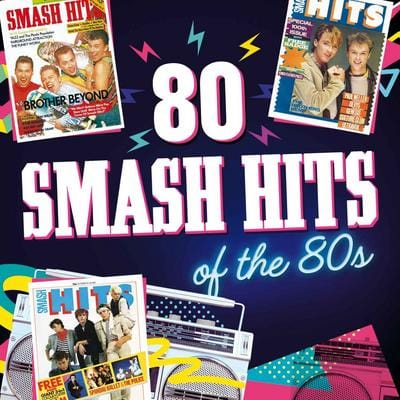 80 Smash Hits of the 80s:   - Various Artists [CD]