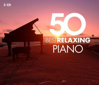 50 Best Relaxing Piano:   - Various Composers [CD]