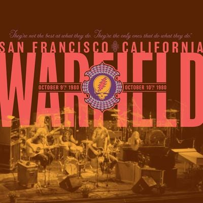 The Warfield, San Francisco, CA, October 9th & 10th 1980:   - The Grateful Dead [VINYL Limited Edition]