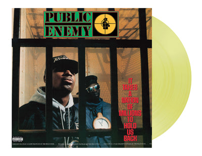 It Takes a Nation of Millions to Hold Us Back: (Indie exclusive) Yellow Vinyl - Public Enemy [VINYL]