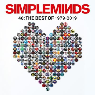 40: The Best of 1979-2019 - Simple Minds [CD]