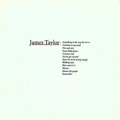 Greatest Hits - James Taylor [VINYL] OUT 27.03.20
