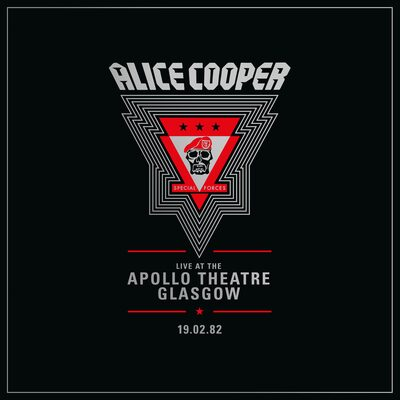Live at the Apollo Theatre Glasgow, 19.02.82 (RSD 2020):   - Alice Cooper [VINYL Limited Edition]