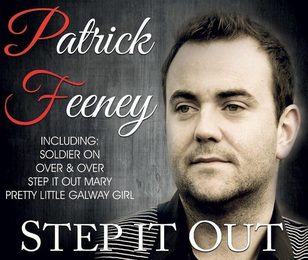 Step It Out - Patrick Feeney [CD]