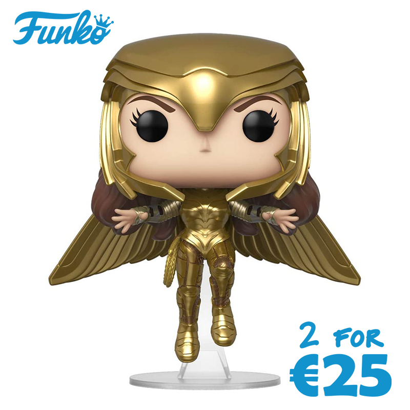Funko Pop! Wonder Woman 84 (Gold Flying Pose) [Toys]
