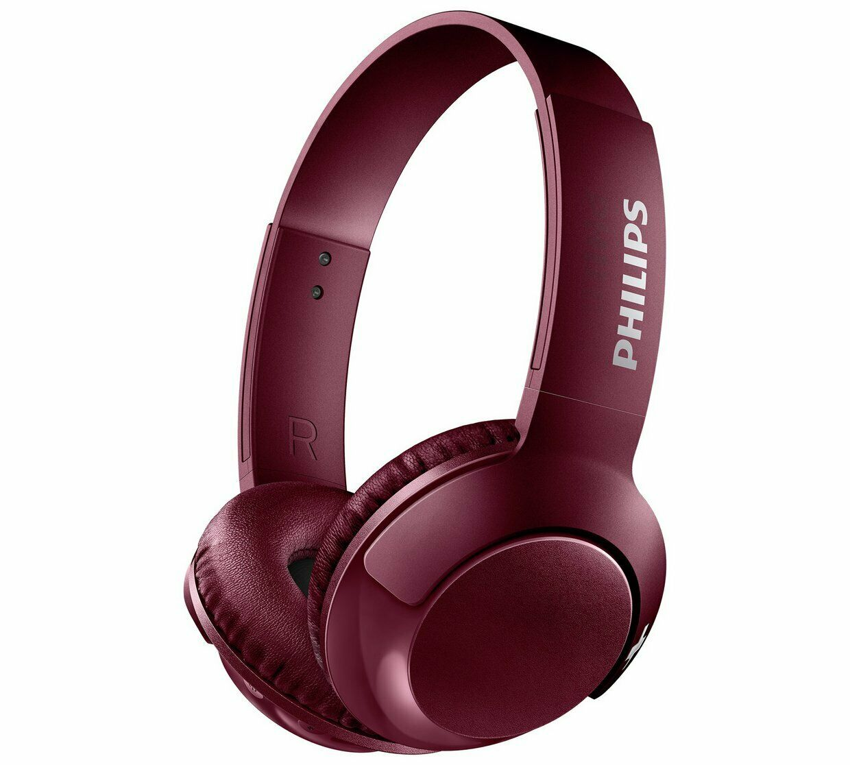 Philips On-Ear Headphones SHB3075RD/00 - Red [Accessories]