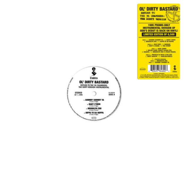 Return to the 36 Chambers: The Dirty Version (The Instrumentals) - Ol Dirty Bastard (RSD 2020) [VINYL]