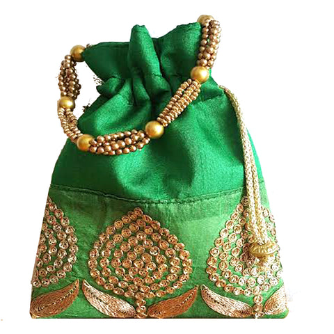 Potli Bags or Clutch Bags or drawstring bags