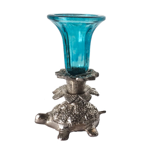 Candle Holder on Tortoise Back