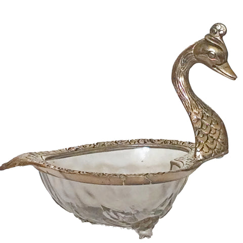 Swan Shaped Decorative Serving Bowl