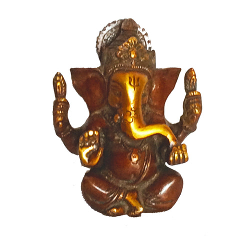 Ganesh Idol/Statue, Made From Brass