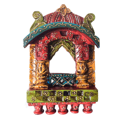 Indian Ethnic Wall Décor :Jharokha - Coloured