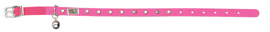 Bling Pink Cat and Kitten Collar From - gummipets
