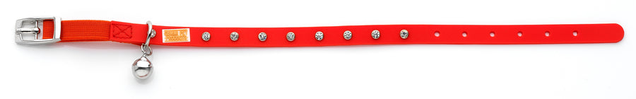 Bling Red Cat and Kitten Collar From - gummipets