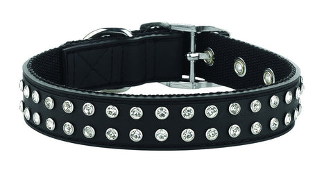 Bling Black Collar From