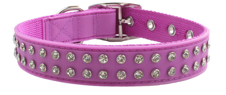 Bling Purple Collar From - gummipets