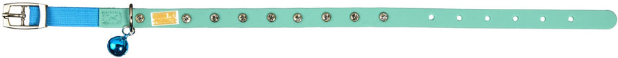 Stud Teal Cat and Kitten Collars From