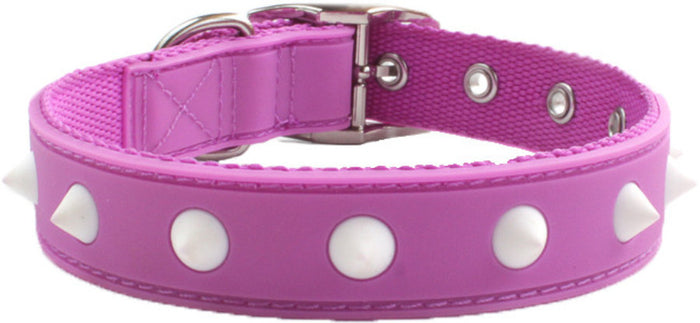 Spike Purple Dog Collar From - gummipets