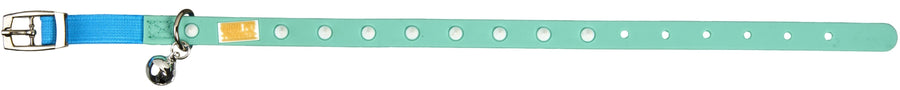 Teal Cat and Kitten Collar From