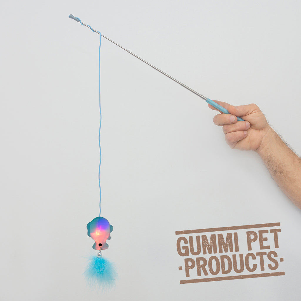 The Aerial Cat Toy