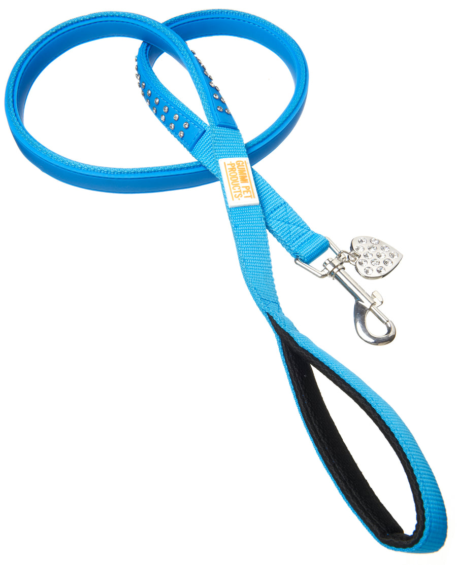 Bling Blue Dog Lead