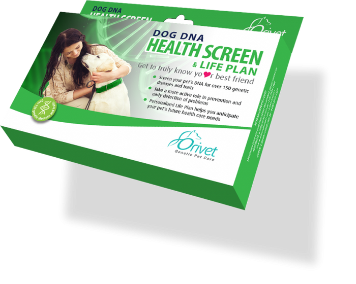 DOG DNA HEALTH SCREEN & LIFE PLAN