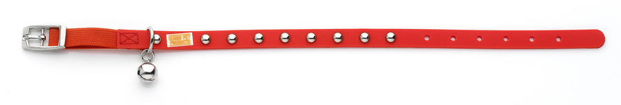 Stud Red Cat and Kitten Collars From - gummipets