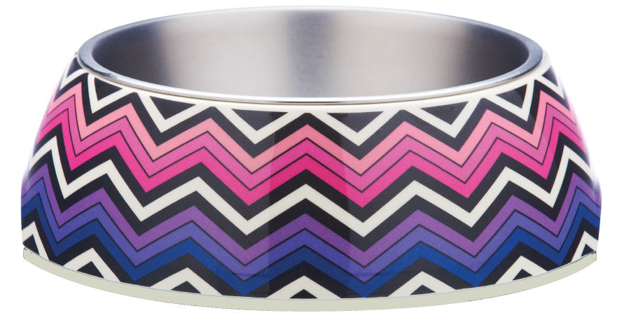 Brights Pink Design Bowl From - gummipets - 1