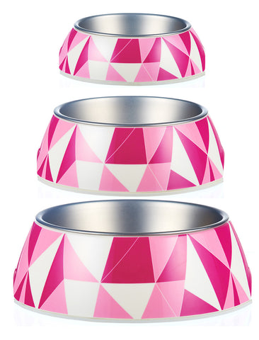 Federation Pink Bowl Design From