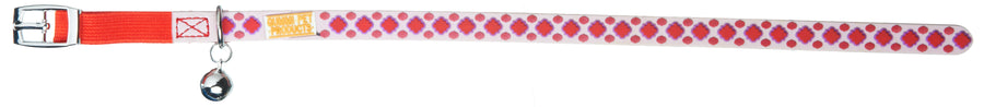 Marrakesh Red Cat and Kitten Collars From - gummipets