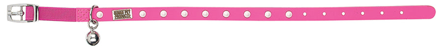 Spike Pink Glow Cat and Kitten Collar From - gummipets