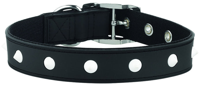 Spike Black Dog Collar From - gummipets