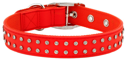 Bling Red Collar From