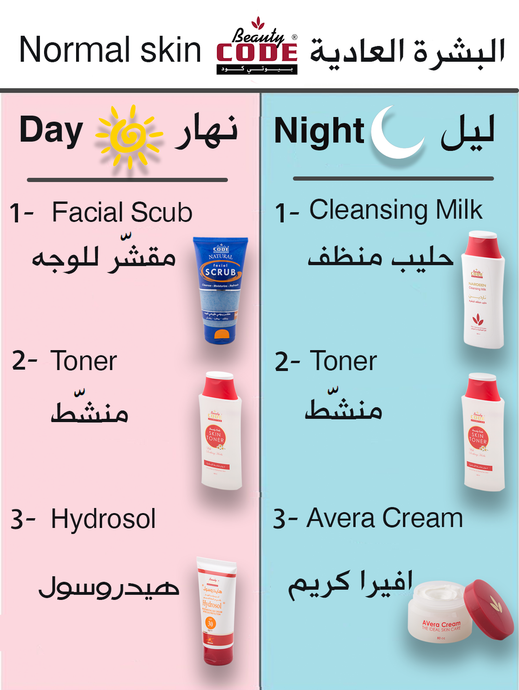 Skincare For Normal skin